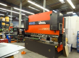 Press brakes AMADA 220 TON X 3100 MM CNC (USED)