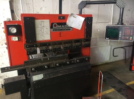 Press brakes AMADA PROMECAM (USED)